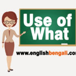 Use of what in Bengali
