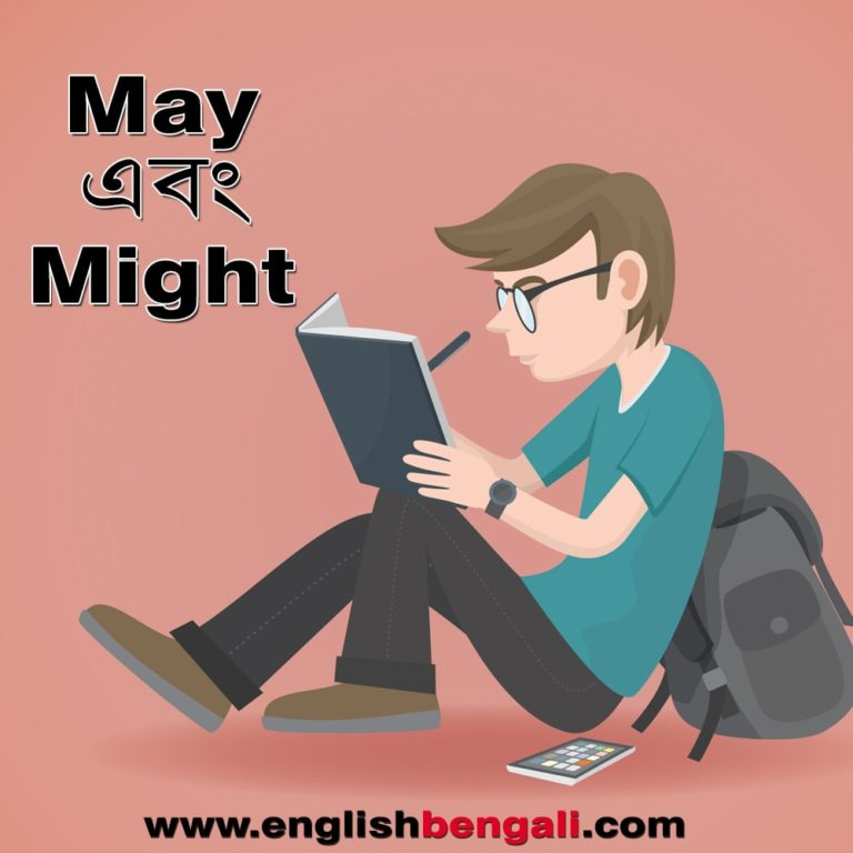 Uses of May and Might in bengali