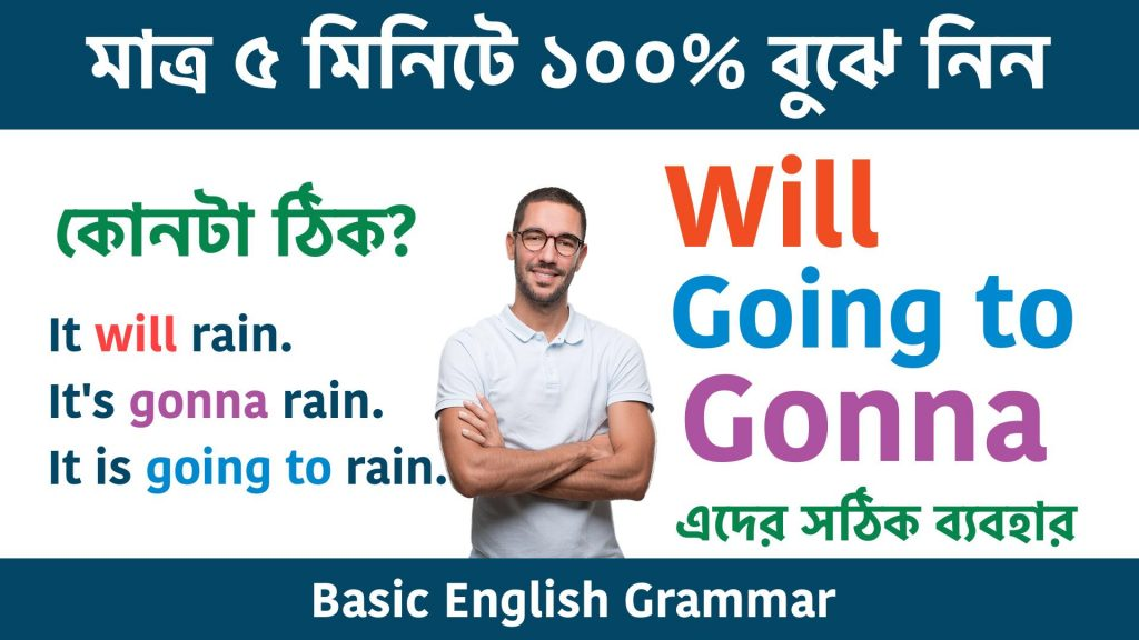 Use Will going to Gonna in English Grammar